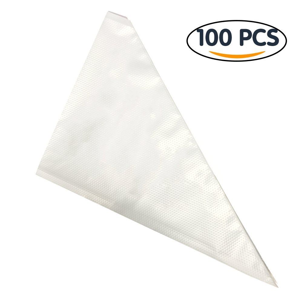 Shintop Cream Pastry Bag Disposable Plastic Icing Bags Cake Icing Piping Decorating Bags For Baking And Cake Bag Cake Decorated Bags Cake Decorating Supplies