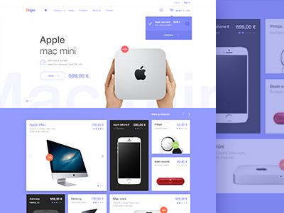 E Commerce Design Web Layout Design Ecommerce Web Design Web Design