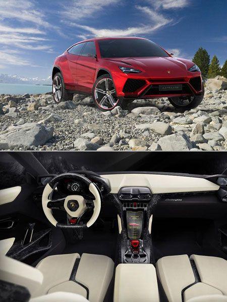 Leaked photos of the Lamborghini Urus SUV.