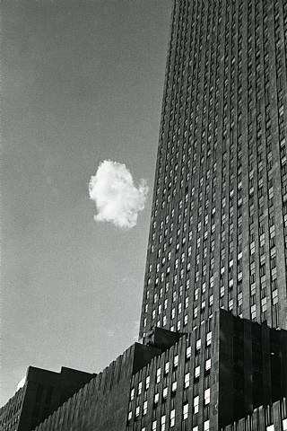 Lost Cloud  Andre Kertesz