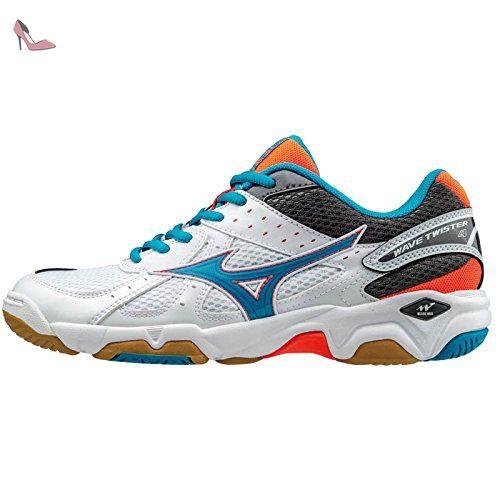 Mizuno Wave Ultima 8, Chaussures de Running Compétition Femme, Rose (Fiery Coral/White/Dazzling Blue), 36 EU (3.5 UK)