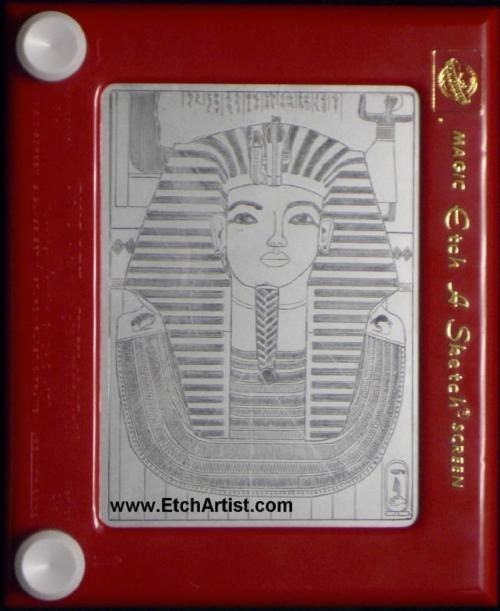 Etch A Sketch - My pictures NEVER looked like this
