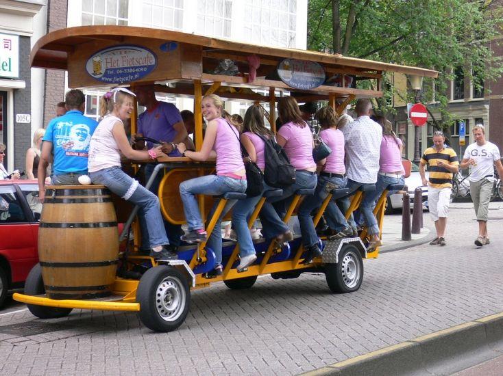Drinks on wheels
