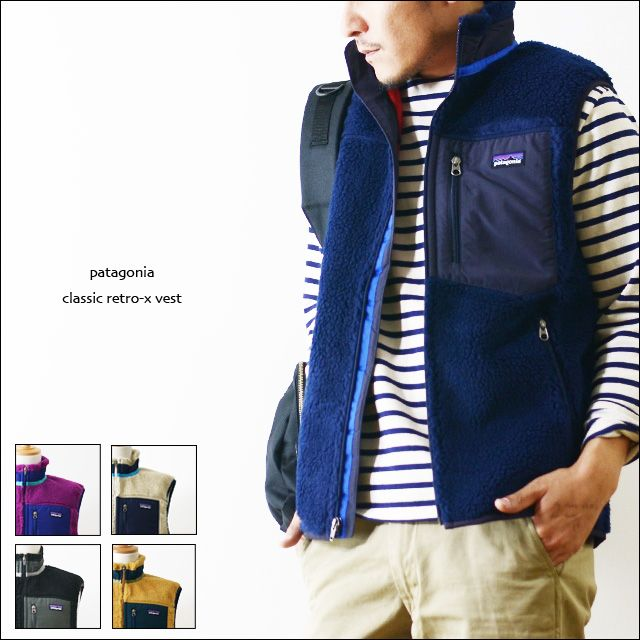 6520cd803d56 Rakuten  Patagonia CLASSIC RETRO-X VEST MEN s response- Shopping Japanese  products from Japan
