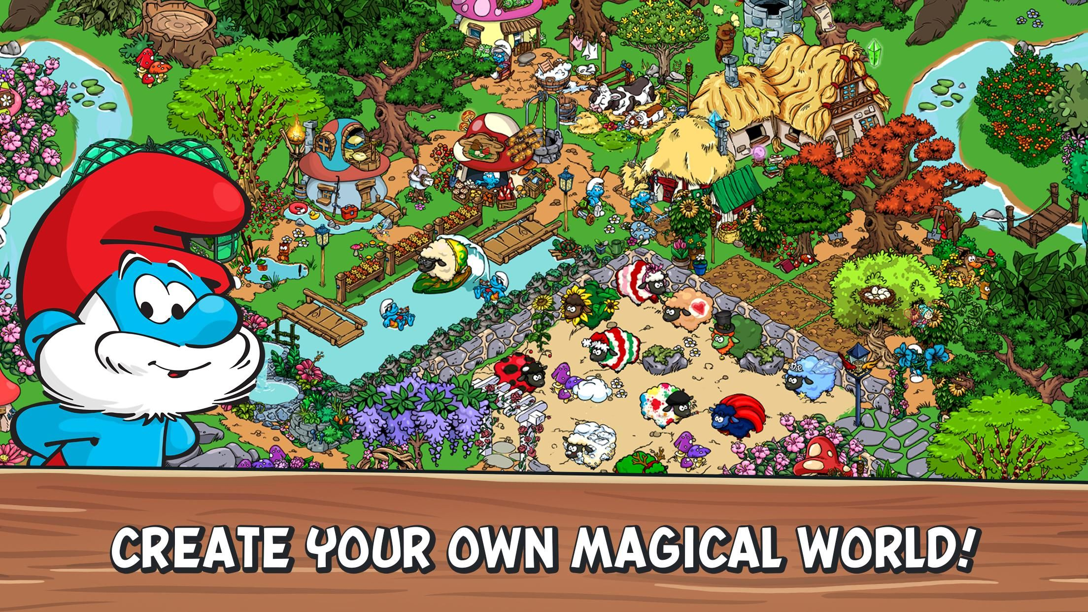Smurfs Village Full Hileli Mod Apk Indir 8211 V1 98 1 Oyun Hile Isletim Sistemi