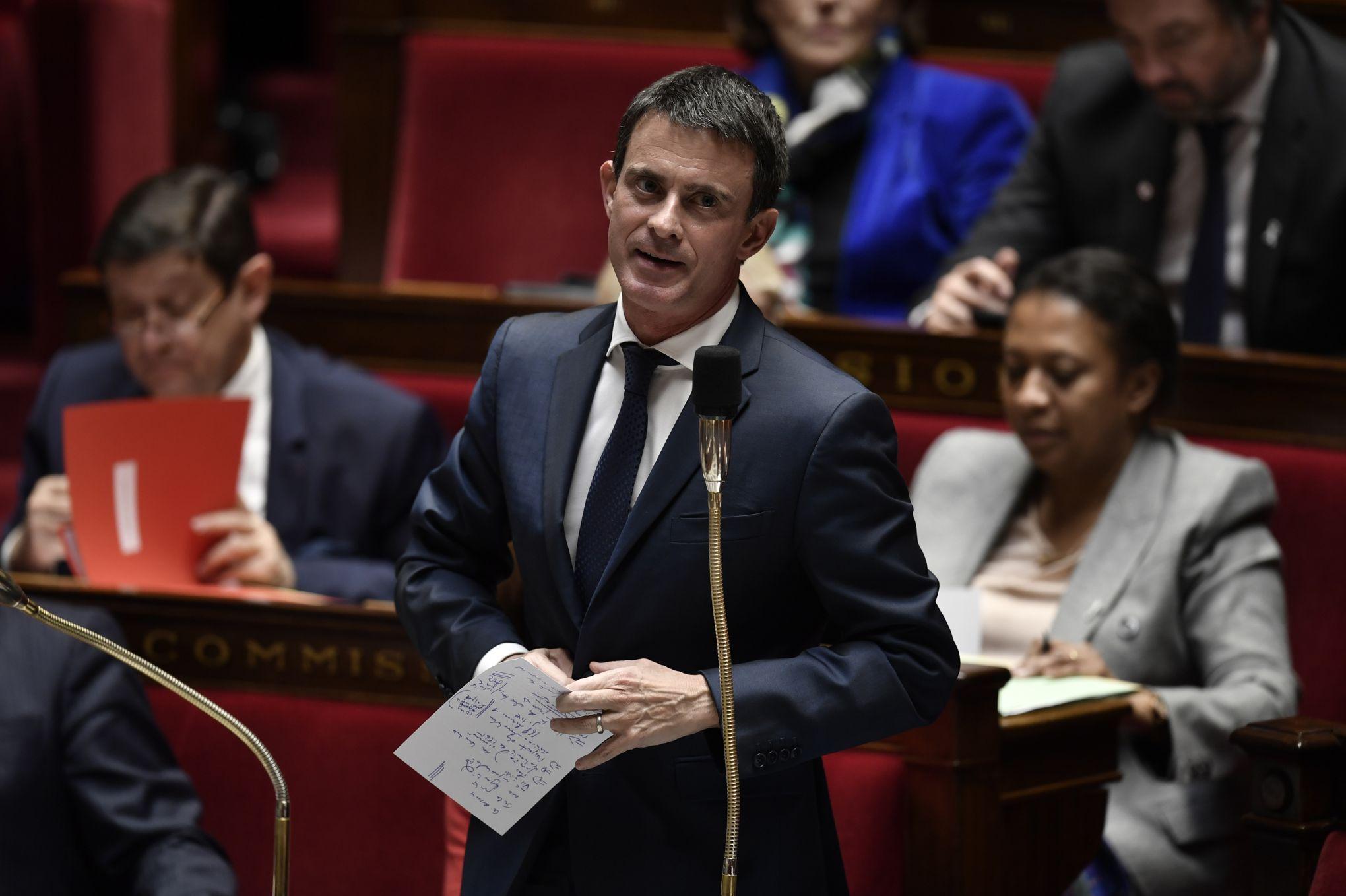 Selon «Envoyé Spécial», Matignon a dépensé des milliers d'euros en sondages sur l'image de Valls