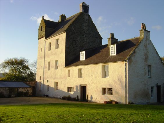 Kinnairdy Castle, Aberdeenshire. Scotland - In use as accommodation