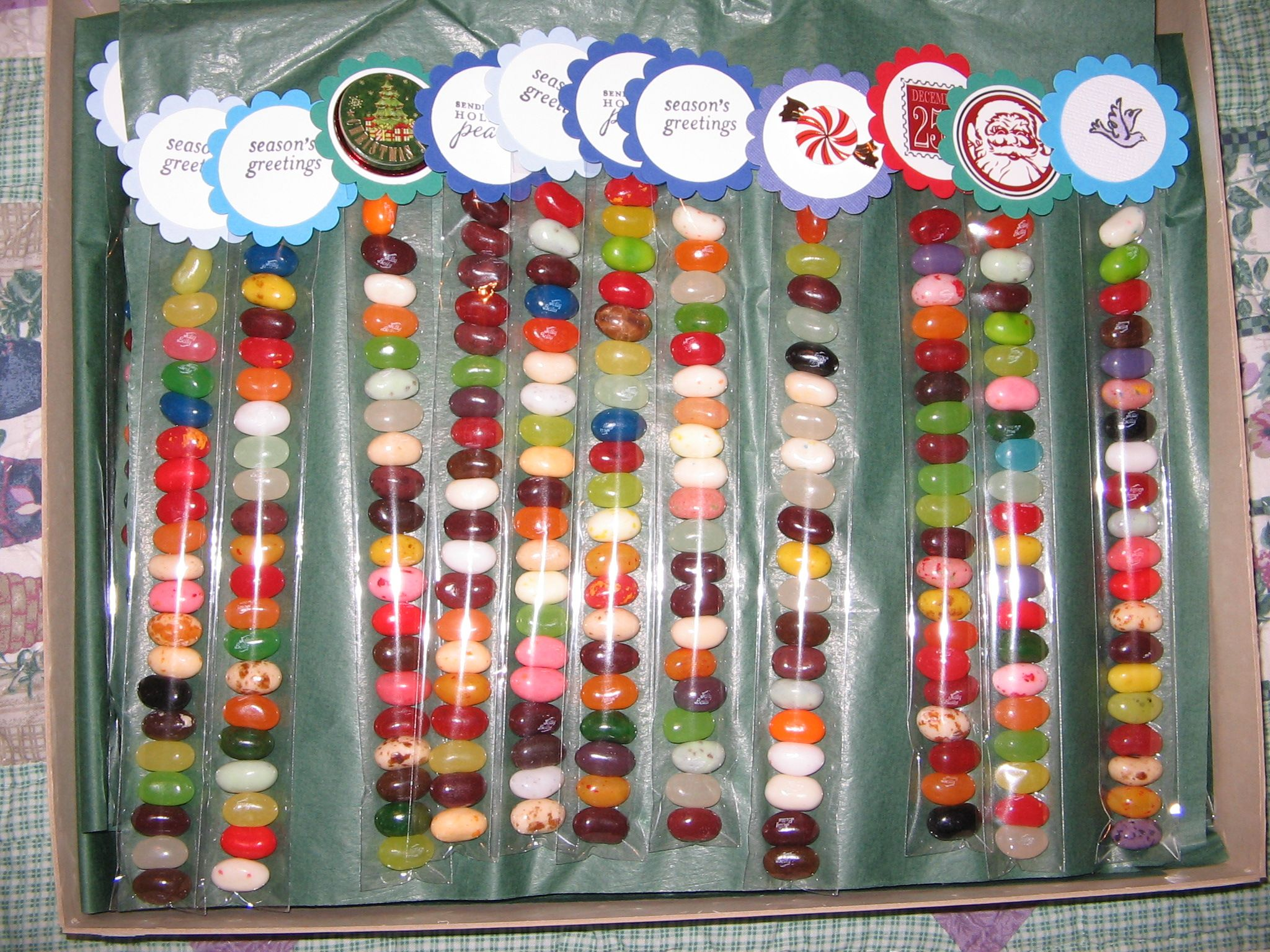 These for our christmas craft bazaar these are a great for Christmas crafts for kids to sell
