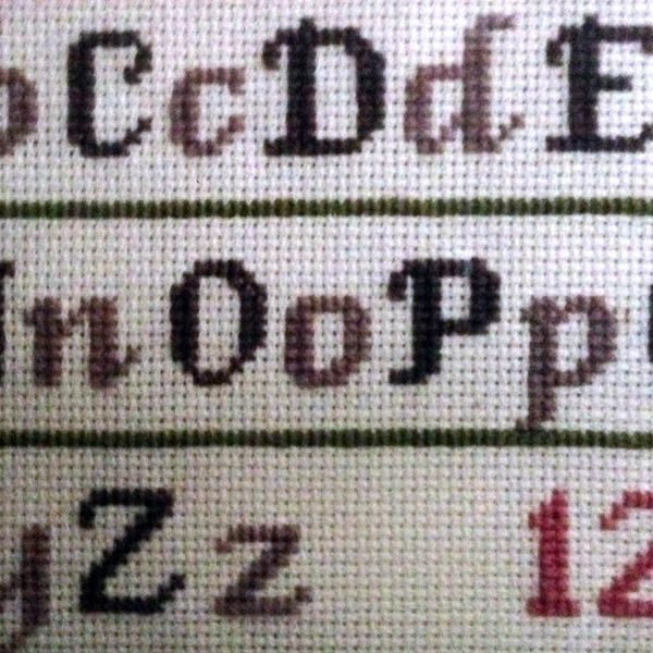 Fancy Alphabet knit 8 stitch | Fair isle and charts | Pinterest ...