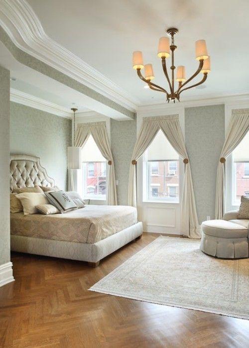 Schlafzimmereinrichtung in Trendfarbe Grau 30 tolle