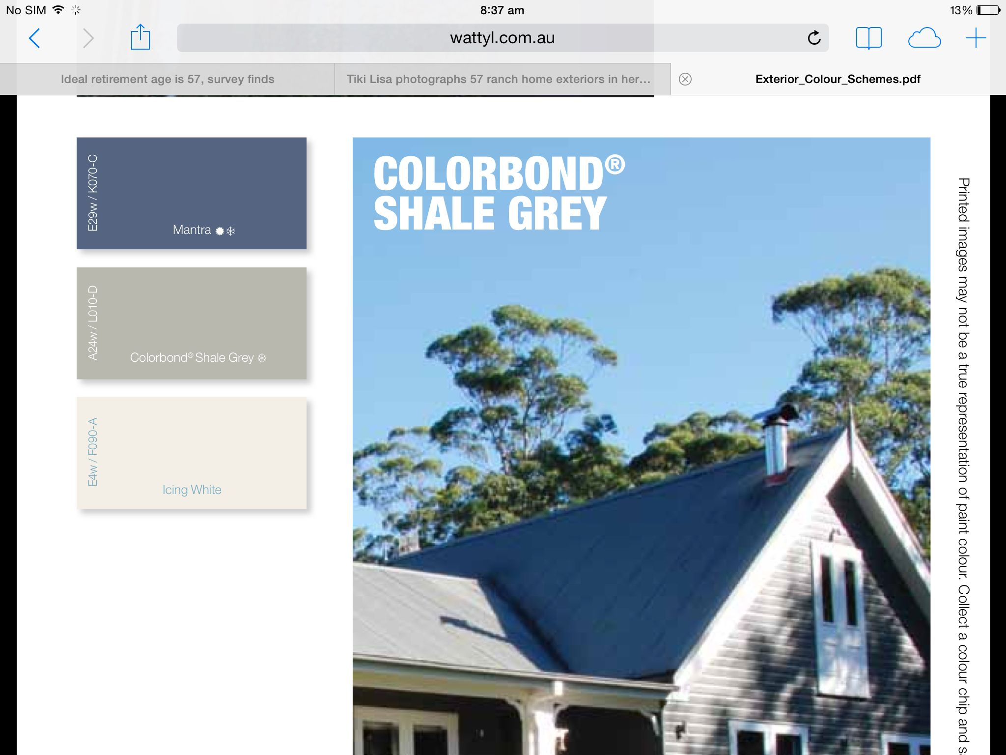 Colorbond roofing colours pictures to pin on pinterest - Shale Grey Colour Scheme