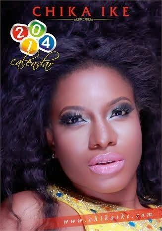 In Full Colours, Nollywood Actress, Chika Ike Unveils Her Sizzling 2014 Calendar (PHOTOS)