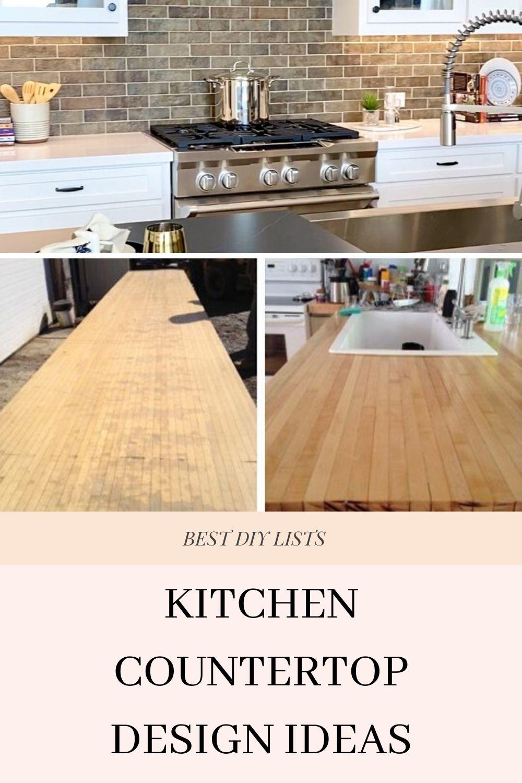 Diy kitchen countertop ideas diykitchen in 2020 diy