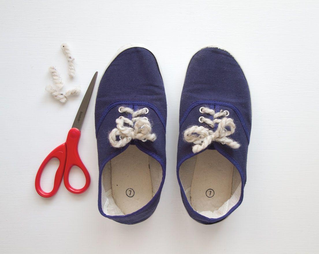 Easy DIY Shoelace Flip Flops forecast