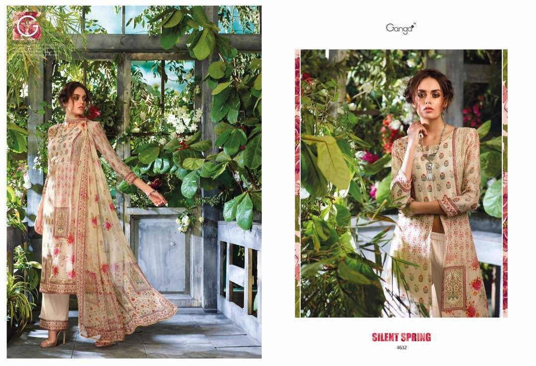 15456cf71a SILENT SPRING BY GANGA WHOLESALE DIGITAL PRINTED SUITS Salwar Suits, Salwar  Dress, Catalog,