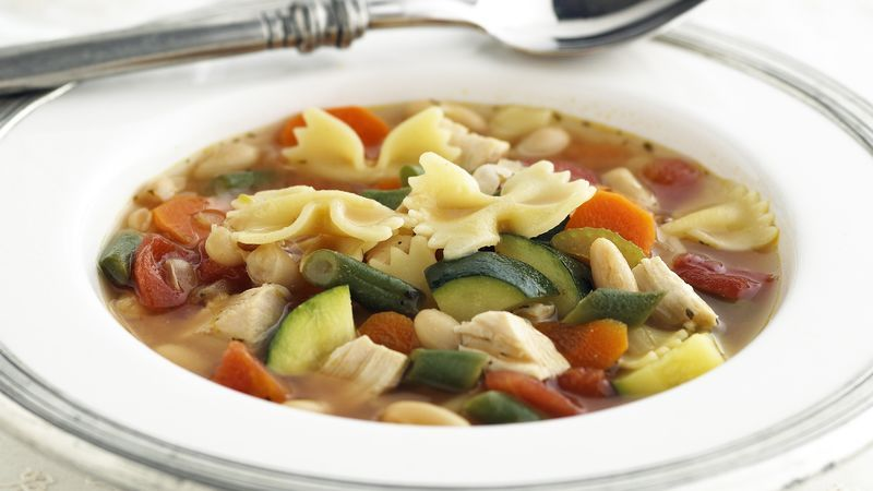 Chicken Recipes Minestrone Soup Minestrone Chicken Recipes