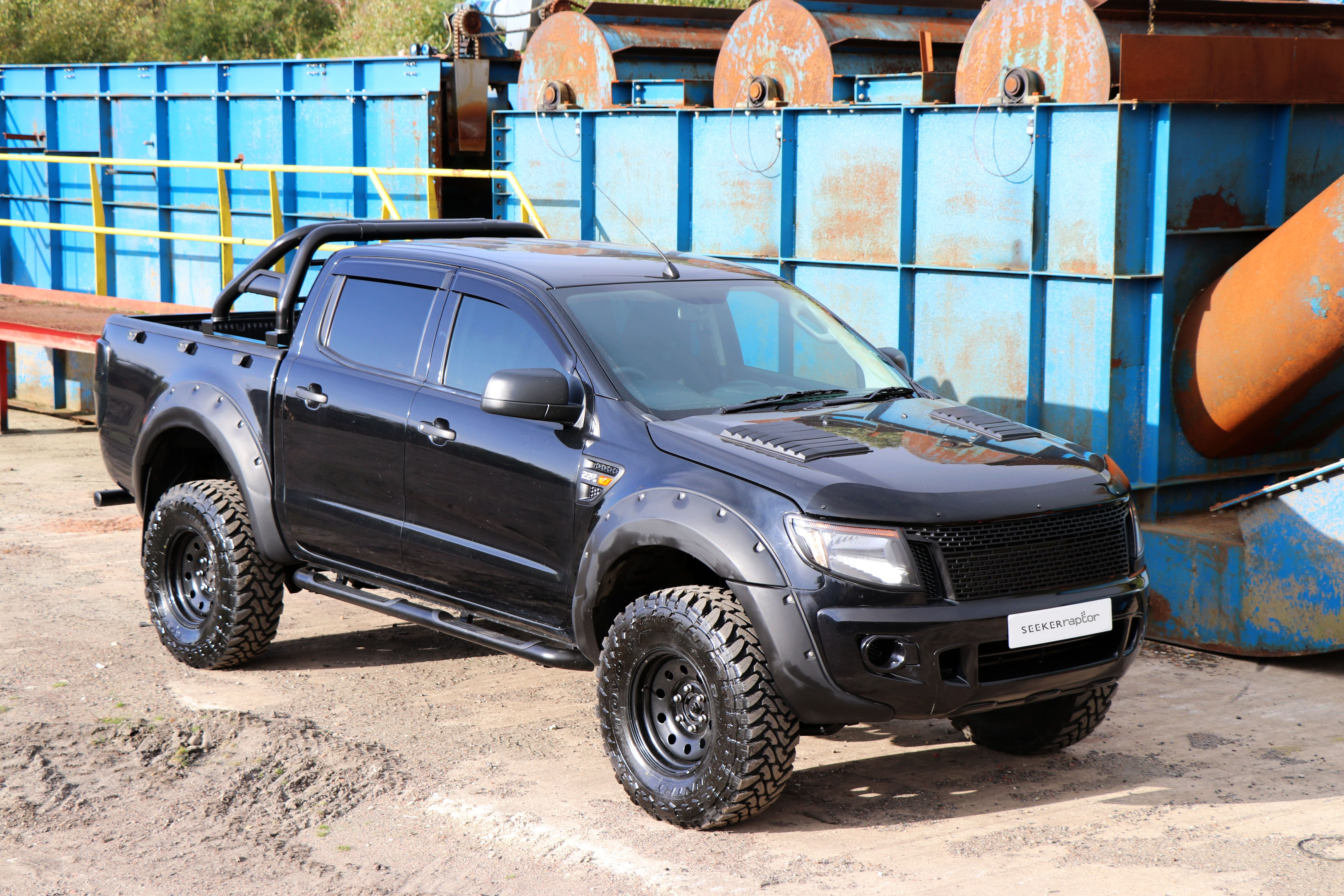 Our Seeker Raptor All Black Standard Edition Comes With A 3 Suspension Lift Kit Wide Arch Body Kit Colour Coded Ford Ranger 4x4 Ford Ranger Used Ford Ranger