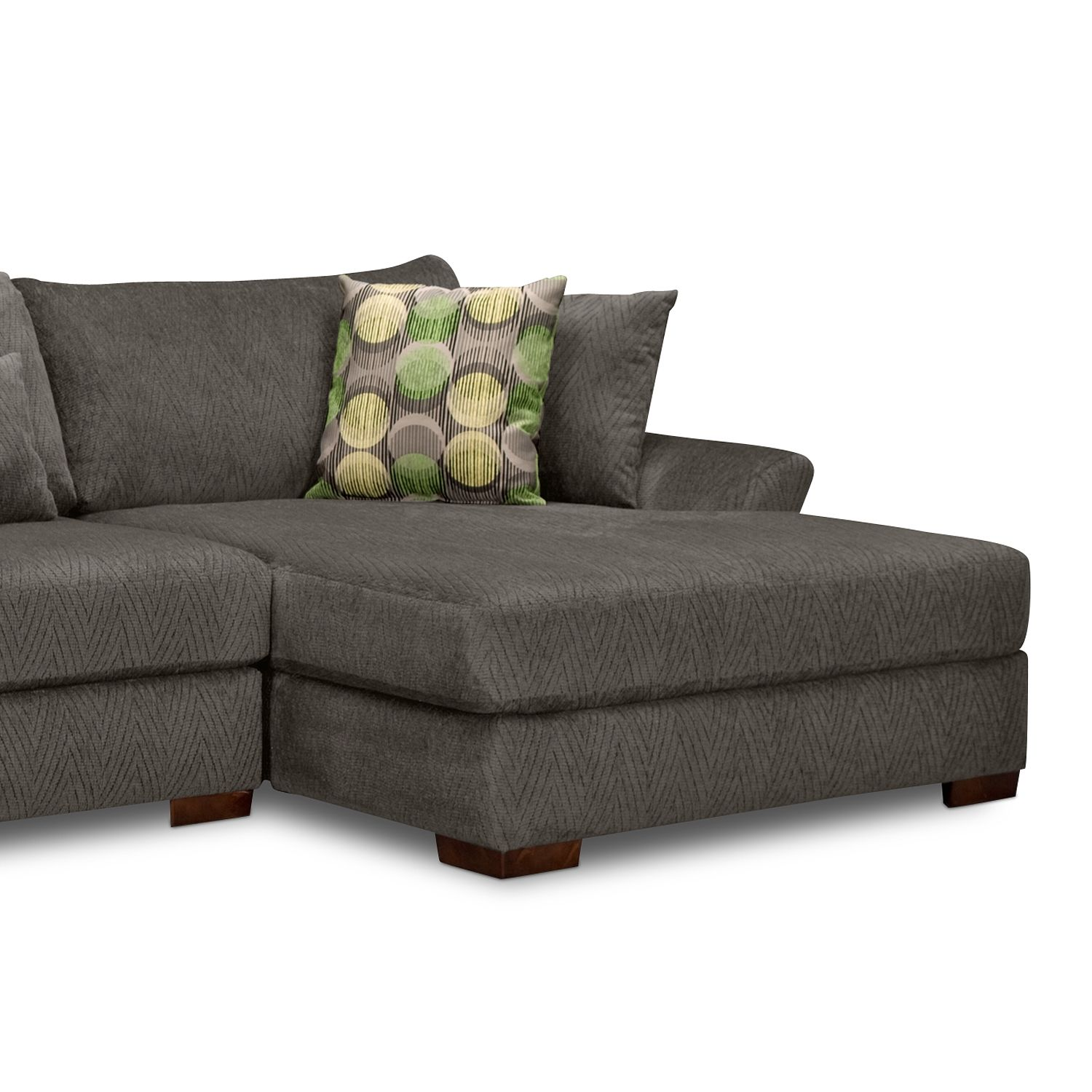 Oasis 2 Pc Sectional Reverse Value City Furniture
