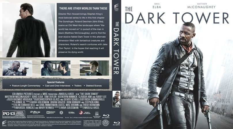 The Dark Tower Blu Ray Custom Cover The Dark Tower The