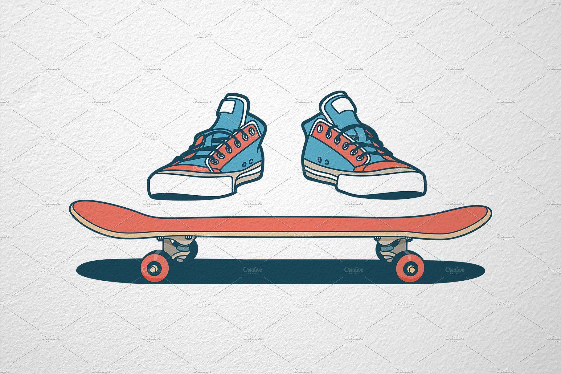 Skateboarding Print Skateboard Photography Skateboard Skateboard Tattoo