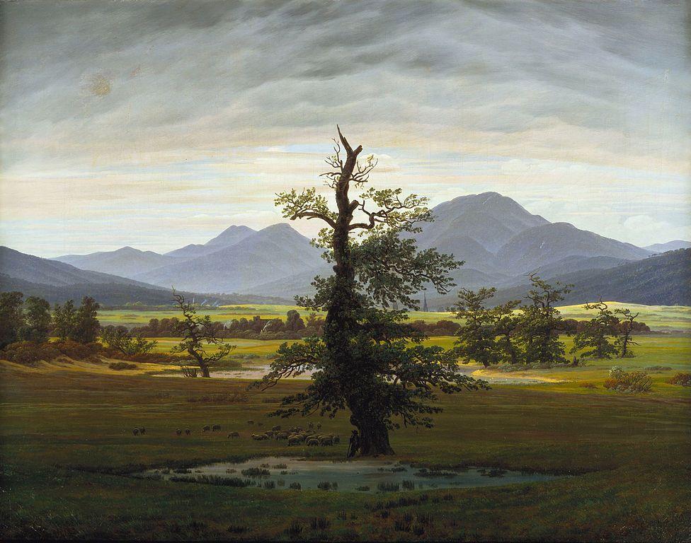 The Romantic Symbolism Of Trees Caspar David Friedrich Landscape Art