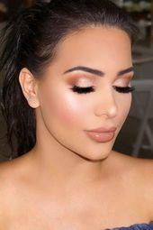 Hochzeits Make-up für Braut oder Brautjungfer #weddingmakeup #weddingmakeupinsp…