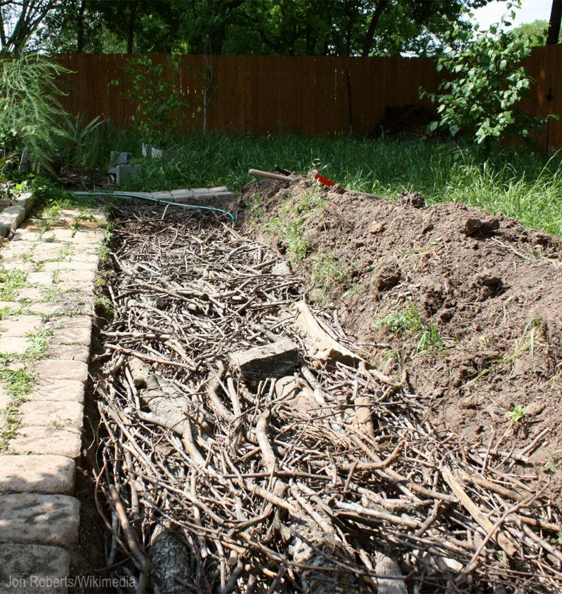 Creating Our First Vegetable Garden Advice Please: What Is Hügelkultur? Build Healthy Soil Your Garden Can