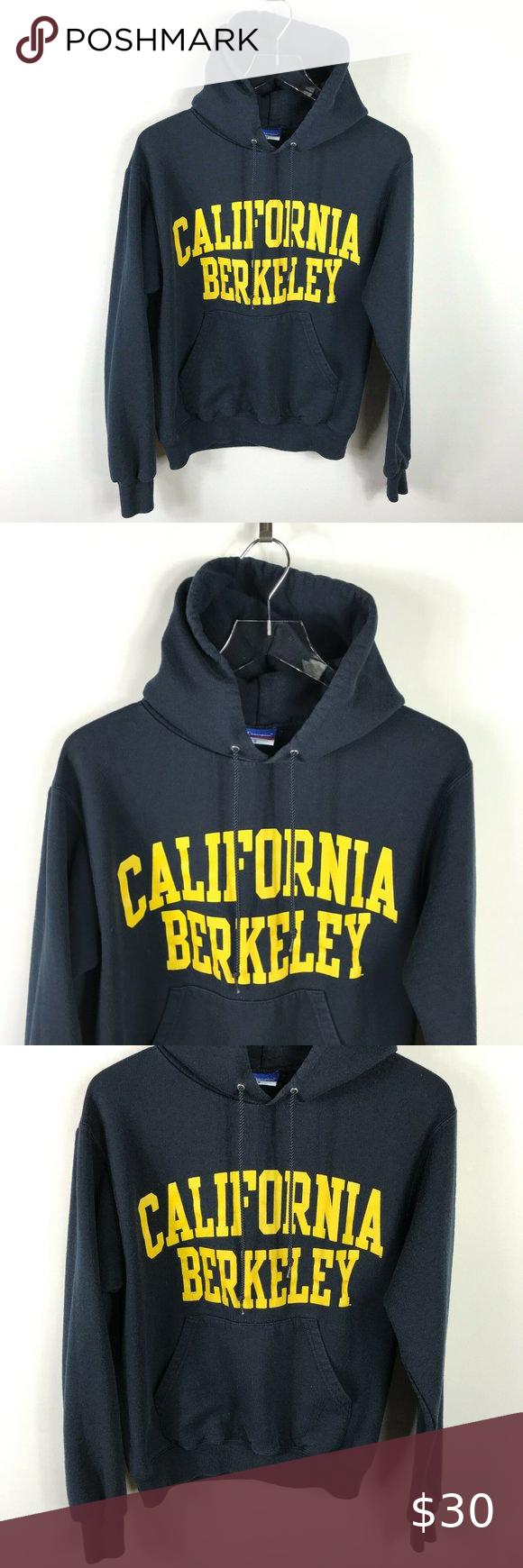 Champion Mens Hoodie Size S Blue Cal Berkeley Logo In 2021 Hoodies Men Champion Hooded Sweatshirt Mens Sweatshirts [ 1740 x 580 Pixel ]