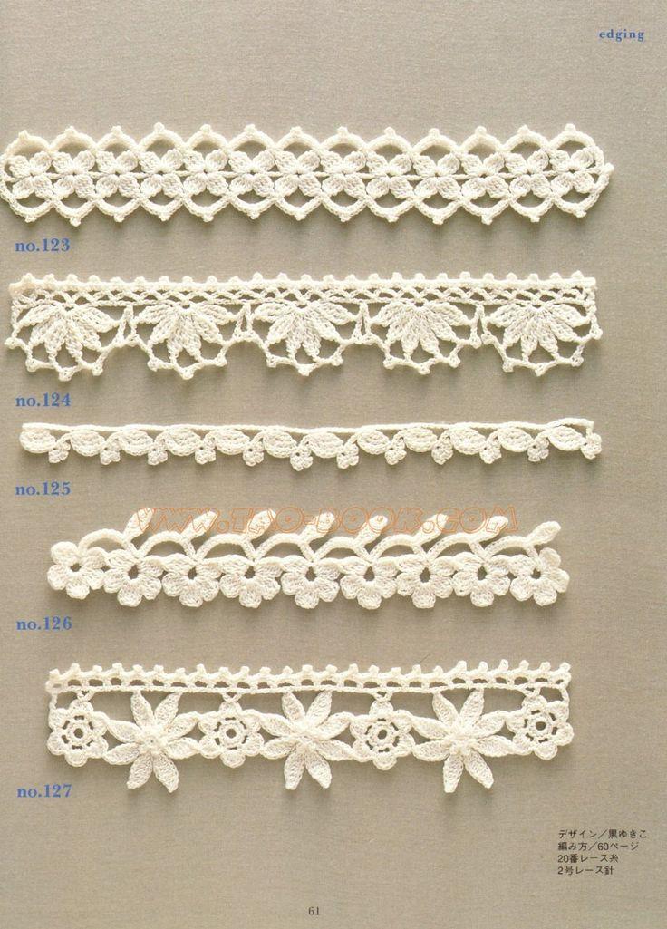 Trendy Lace Edging Crochet Patterns Free Vintage Fan Crochet