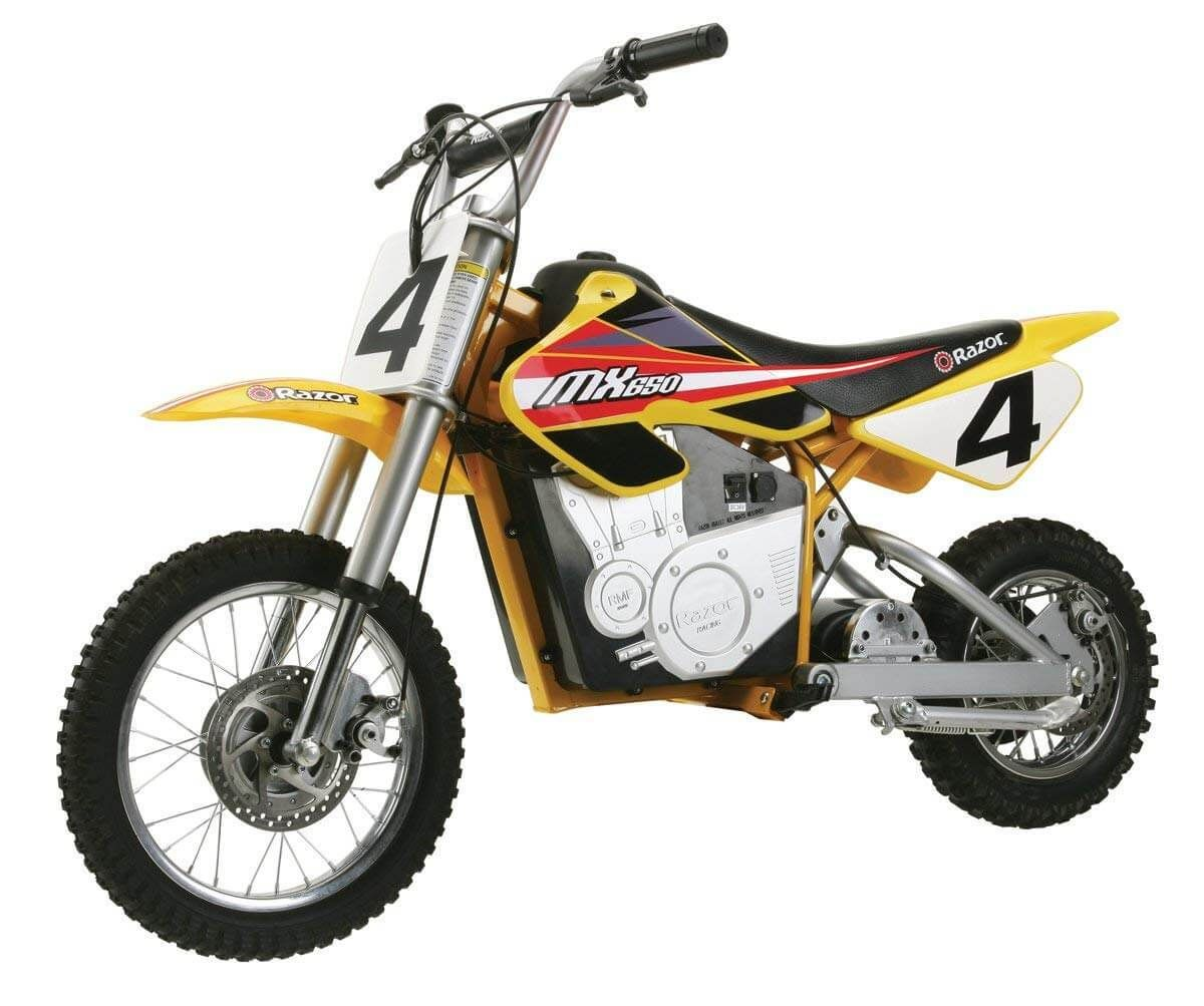 Razor Dirt Rocket Mx650 Battery Powered Ride On In 2020 Electric Dirt Bike Cool Dirt Bikes Dirt Bikes For Kids
