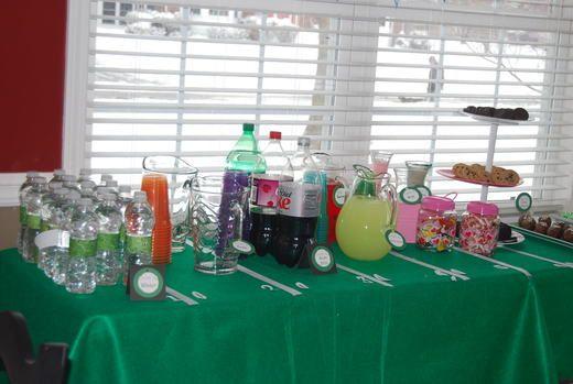 Superbowl Birthday Party