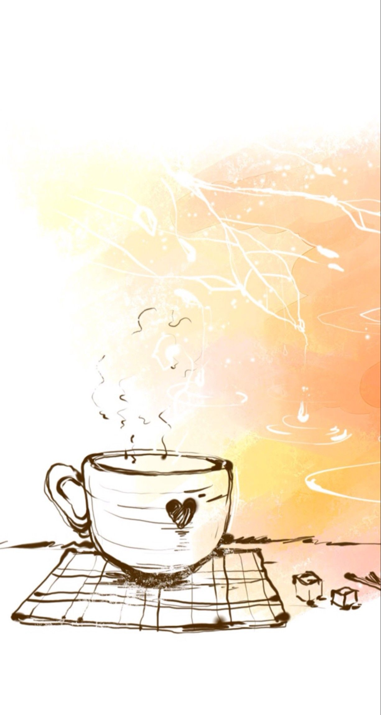 Pin by Mayra on Wallpapers Coffee wallpaper iphone