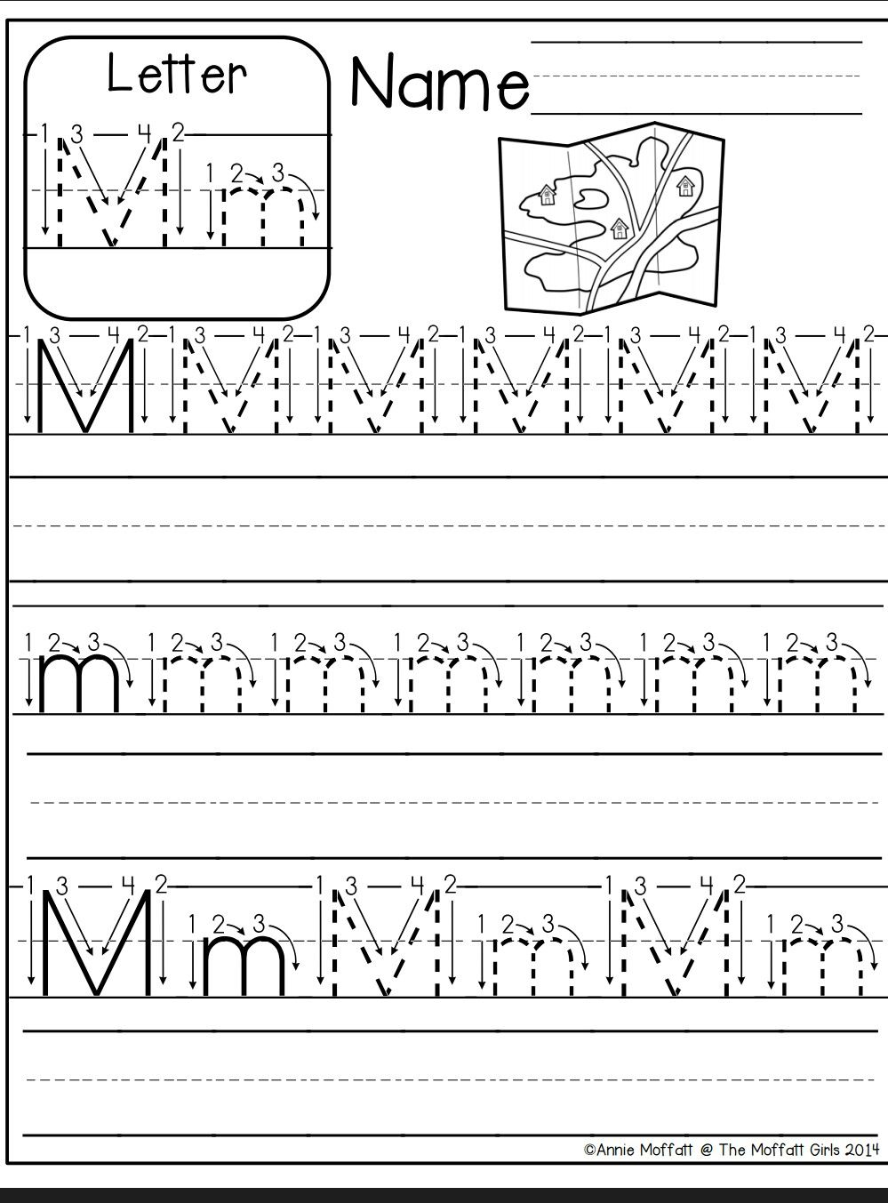 Letter M Worksheet Letter M Worksheets Kindergarten Worksheets Preschool Worksheets [ 1353 x 999 Pixel ]