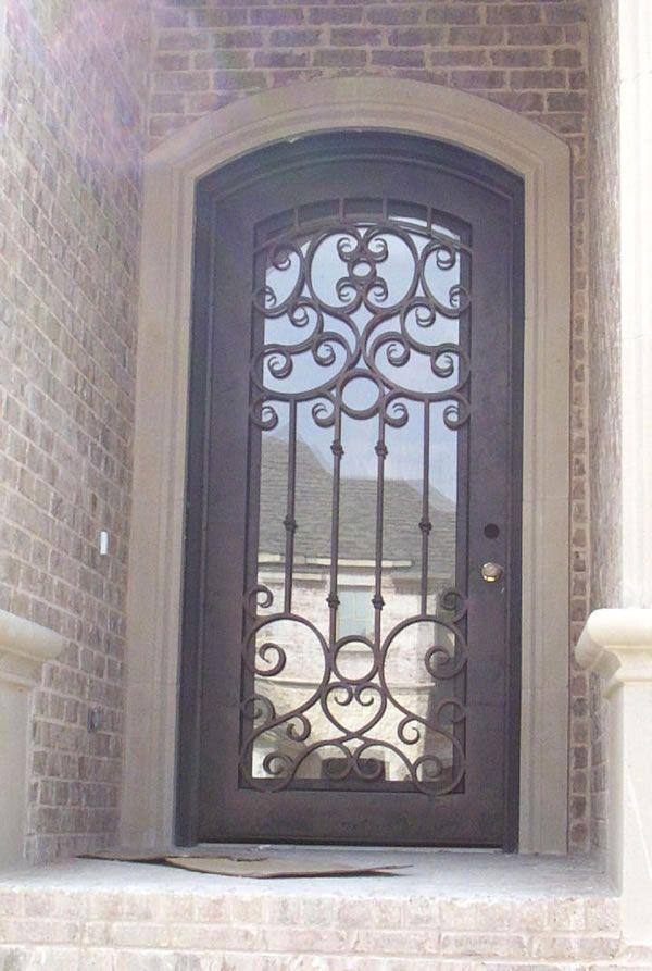 Pin de dise o herrerias en fierro pinterest hierro for Puertas de metal con vidrio