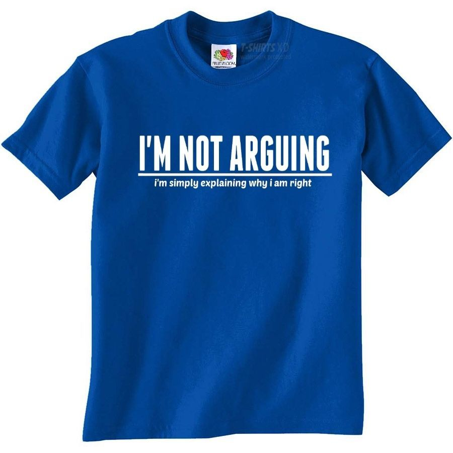 I M Not Arguing Funny T Shirts Mens Funny Present Gift For Men
