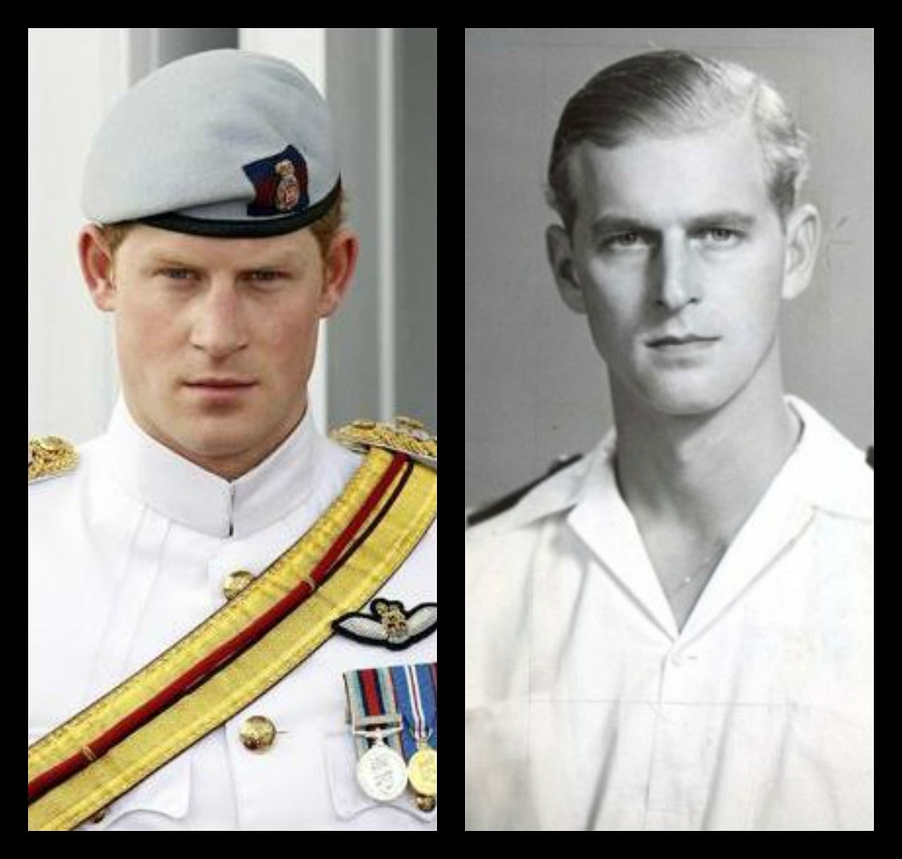 Royal Resemblance - Prince Harry and Prince Philip ... Young Prince Philip Prince Harry