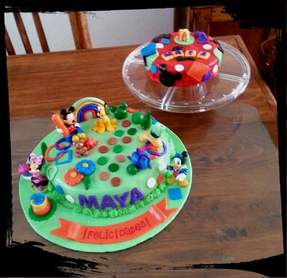Mickey and Friends cakes