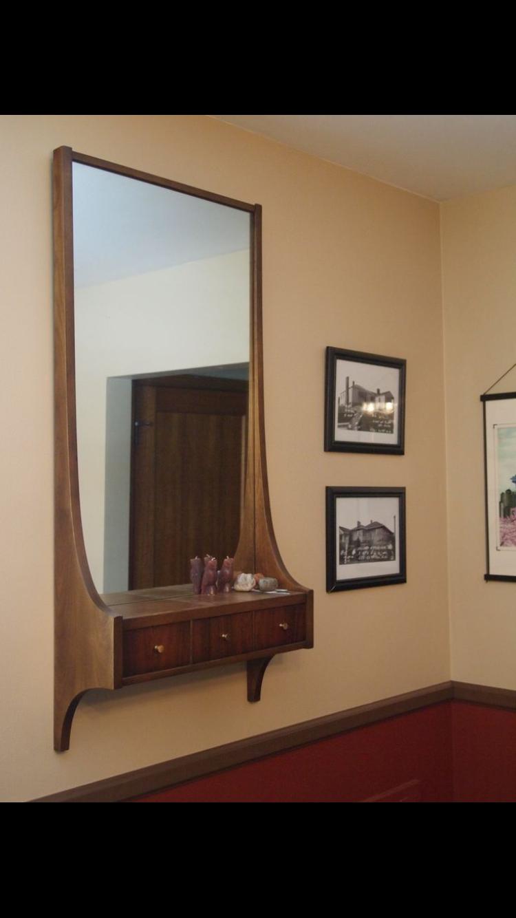 Wall Unit Dressing Table Living Room Mirrors Mirror Wall Living