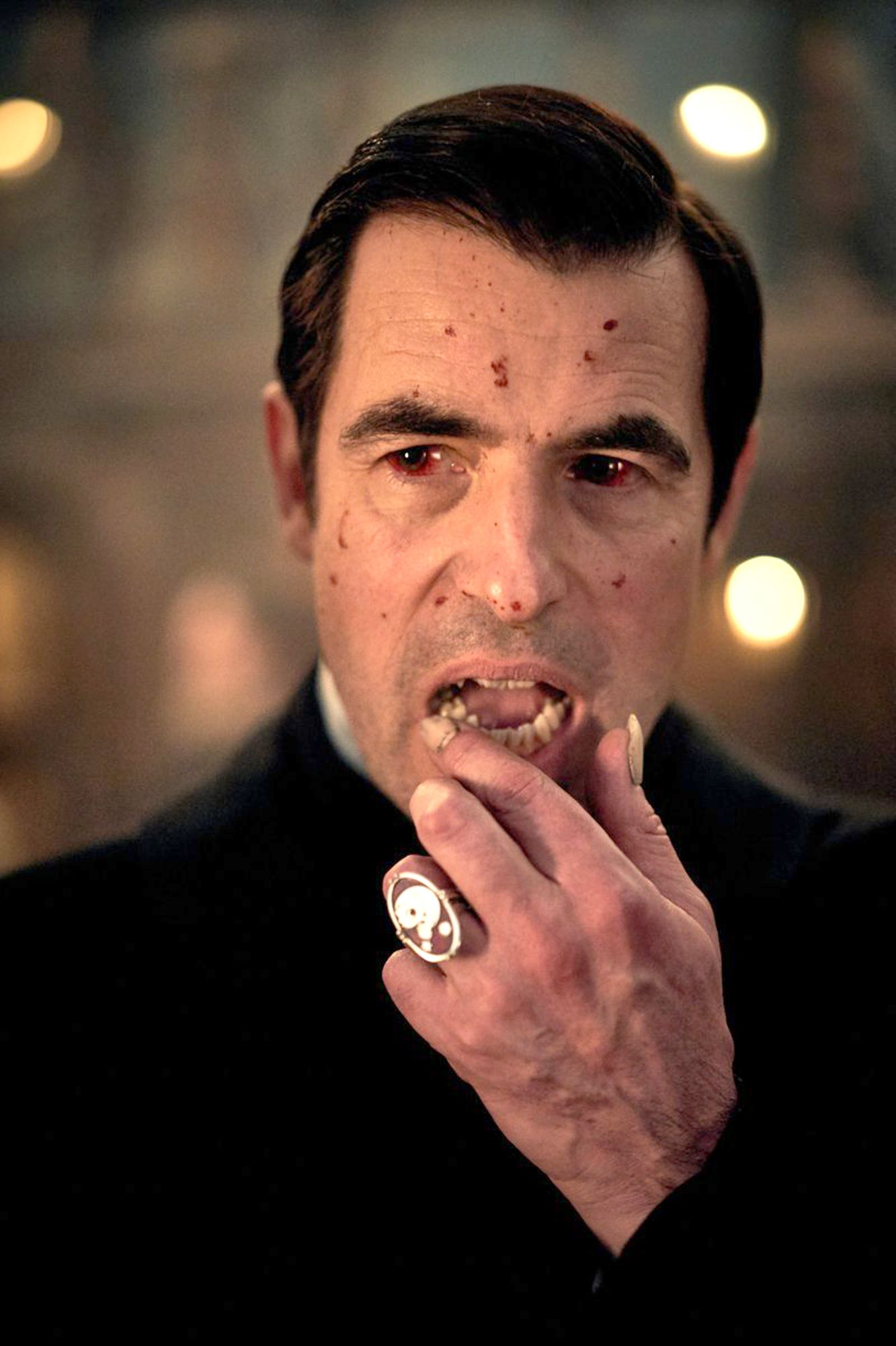 Dracula Arrives In First Blood Splattered Look At Sherlock