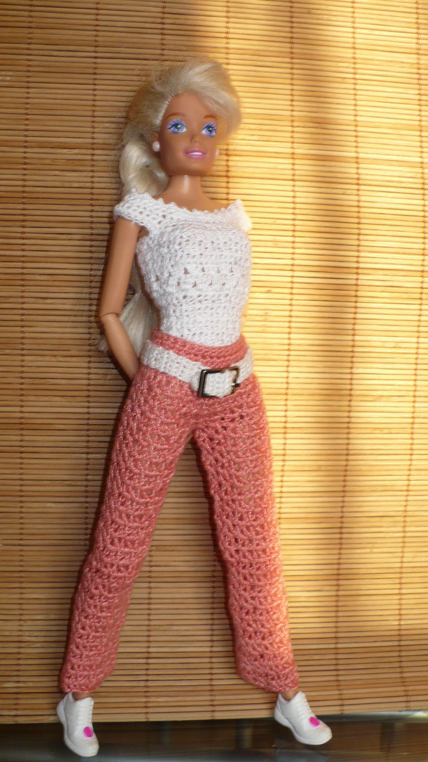 Top Pants No Pattern B Barbie Pantalon Pinterest