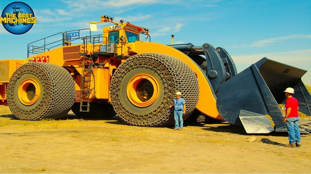 Le Tourneau L2350 Transporting The Best Machines The L 2350 Loader