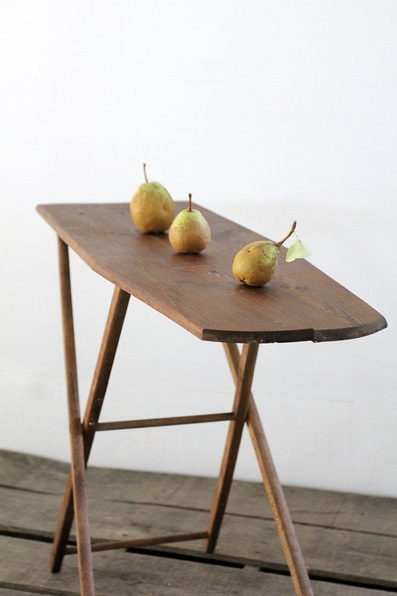 Gorgeous, simple, functional: Small Ironing Board / Vintage Wood Ironing  Board by 86home - Small Ironing Board / Vintage Wood Ironing Board Wood Ironing