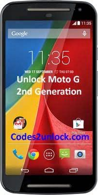 How to carrier unlock your Motorola Moto G by unlock code so you can use with another sim card or gsm network with unlocking instructions. Unlock your Motorola Moto G by unlock code Fast & Secure with Lowest Price Guaranteed Quick and easy Motorola phone unlocking with step by step unlocking instructions.