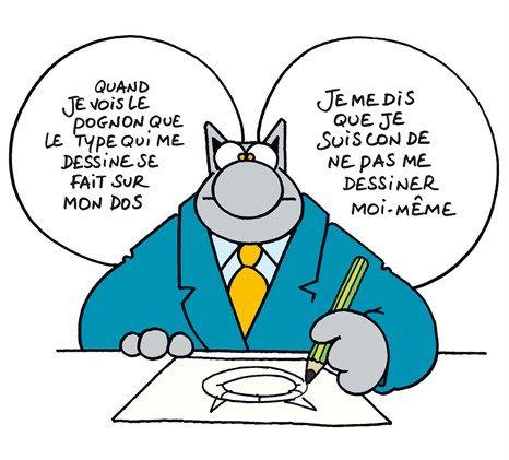 Réflexion Du Chat Humour Chat Humour Le Chat Geluck Et