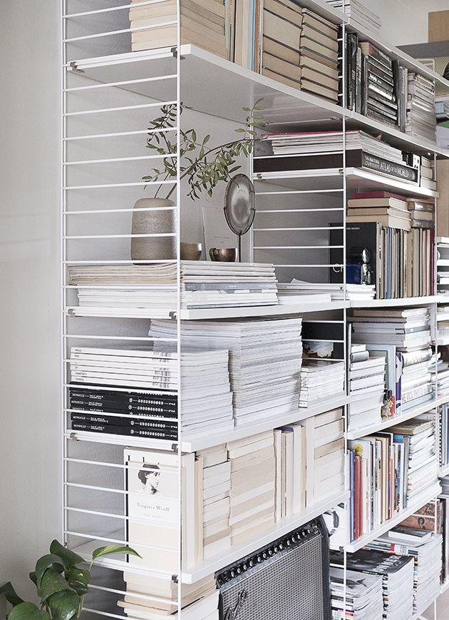 Book shelf / Anna Pirkola / Dadaa blog / String