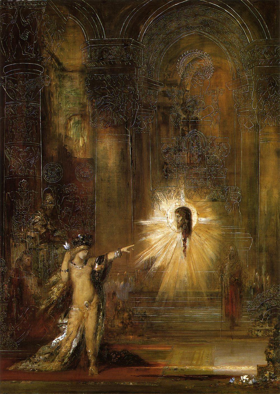 出現(L'Apparition) 1876年 | 油彩・画布 | 142×103cm ...