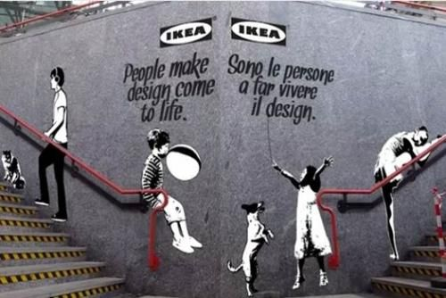 Don't Mess With Banksy!  This goes way over the line!