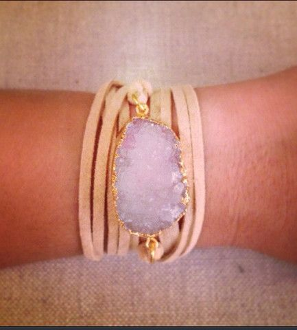 DRUZY Wrap Bracelet - Bent by Courtney Jewelry www.bentbycourtney.com