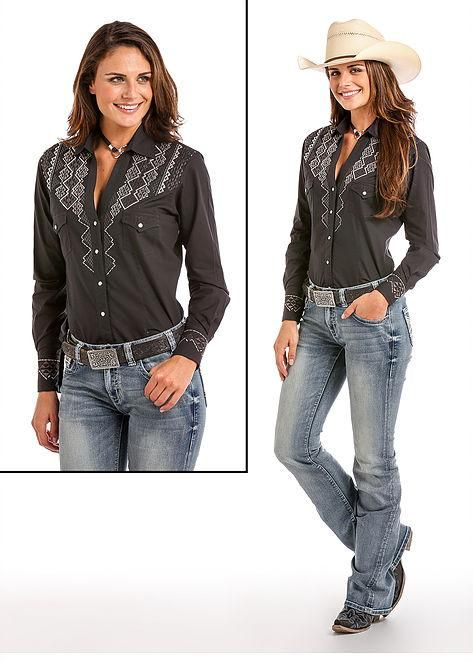 887df68d69e PANHANDLE SLIM Women's Raven Western Snap Shirt in 2019 | Products ...