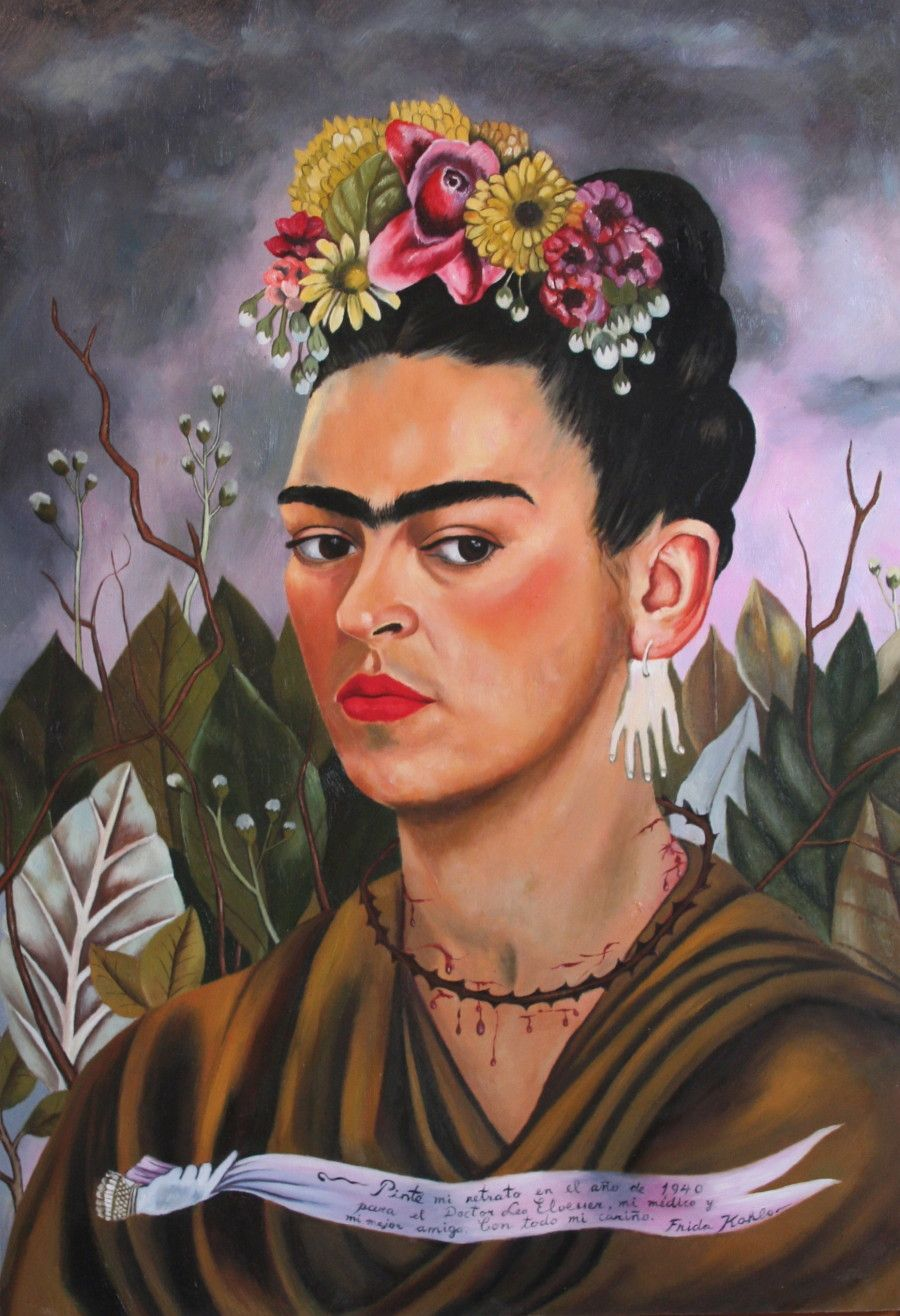 behold all of frida kahlo 39 s paintings copied by